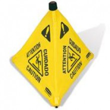 "Wet Floor Sign Collapsible 30"""