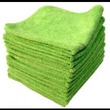 Microfibre Cloth Green 14X14