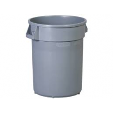 Waste Receptacle 32 Gal (Grey)